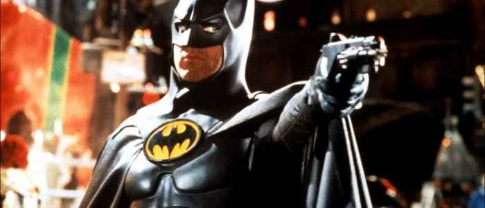 Michael Keaton as Batman in Tim Burton's Batman