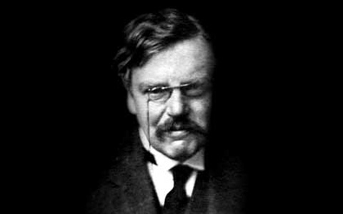 G.K. Chesterton, English journalist and apologist