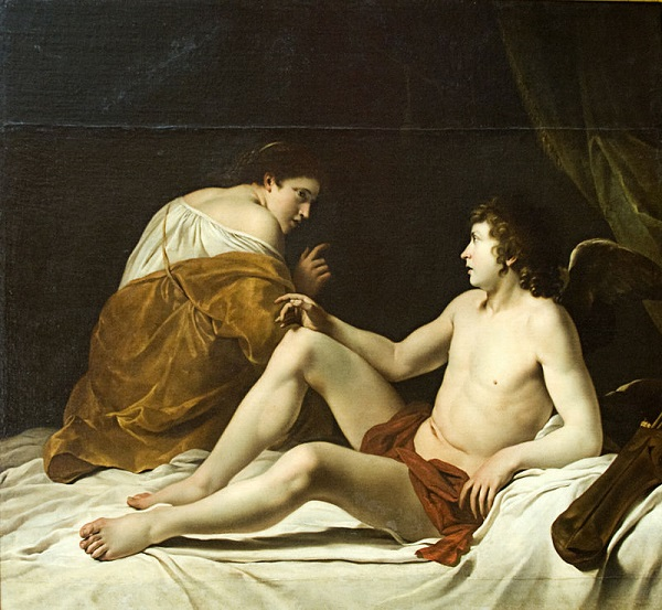The tale of Eros and Psyche shows how intimacy and spirituality cause the soul to transcend mortality.