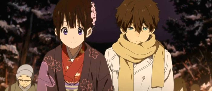 Hyouka's school festival and New Years episodes were well received.