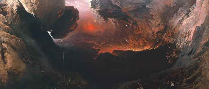 """John Martin's """"The Great Day of His Wrath"""" provokes an eye-popping, apocalyptic view of the sublime."""