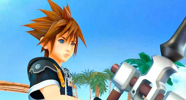 Sora, as he will be seen in Kingdom Hearts III.