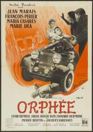 Orphée movie poster