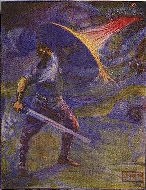 beowulf dragon