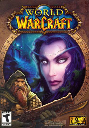 World of Warcraft and it's competitors are all MMO's, games that allow a myriad of players to play together at the same time.