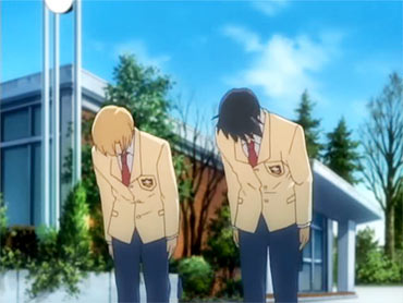 It is nearly impossible to watch an anime without seeing a character bow.