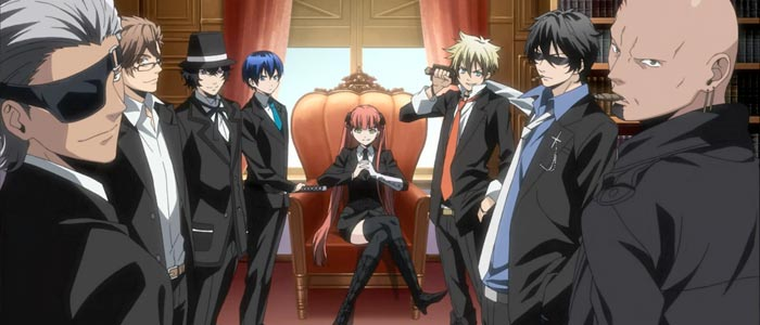 The Arcana Famiglia anime focuses on a criminal organization.