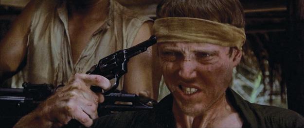 Christopher Walken in The Deer Hunter