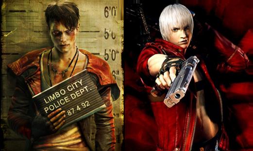 Dante vs. Dante: Comparison between the DmC version of Dante and the original Dante.