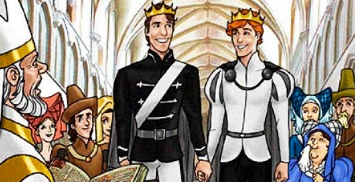 Rumors flied online about a Disney adaptation of the Princes and the Treasure, but this was not true.