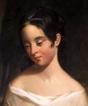 Poe's cousin and wife, Viriginia Clemm
