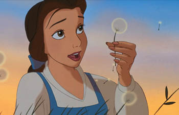 "Belle from Disney's 1991 ""Beauty and the Beast""."