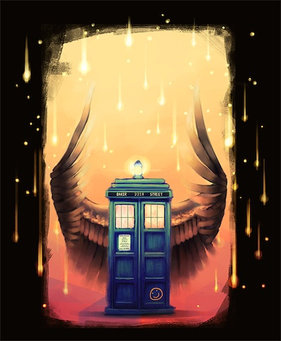 A SuperWhoLock fan creation by DeviantArt user AngHuiQing