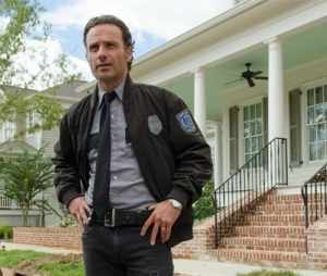 Deanna appoints Rick as constable in Alexandria.