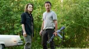 Deanna and Rick must work together to lead their people into a better future.