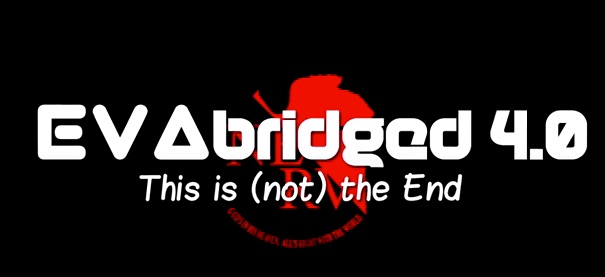 Logo of the final episode of EvAbridged.