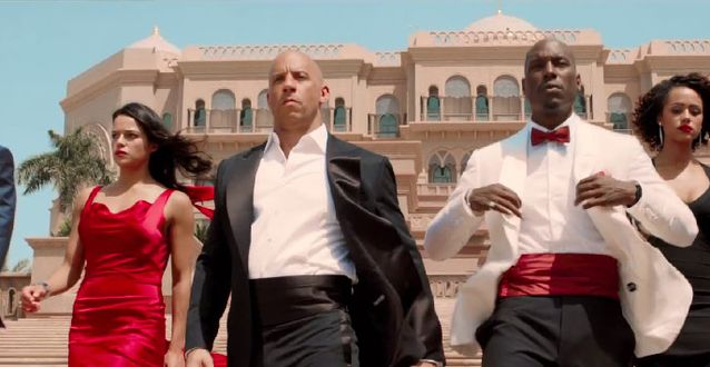 Fast and Furious 7 - Diversity in Dubai