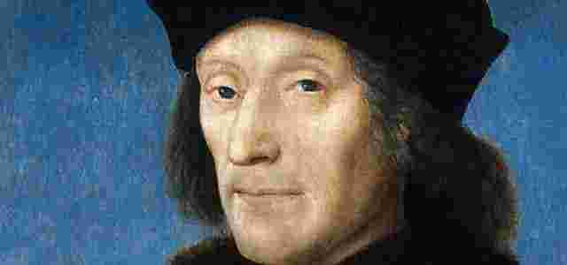 A portrait of Henry Tudor as King Henry VII