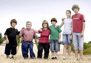 The Roloff family, stars of TLC's Little People Big World