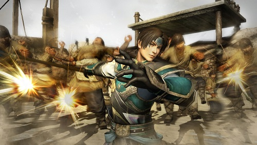 Zhao Yun fighting against the army