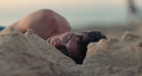 Joaquin Phoenix in The Master.
