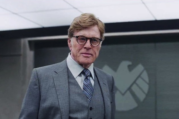 Robert Redford as Alexander Pierce in Captain America: The Winter Soilder