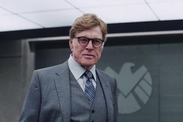 Robert Redford as Alexander Pierce in Captain America: The Winter Soilder