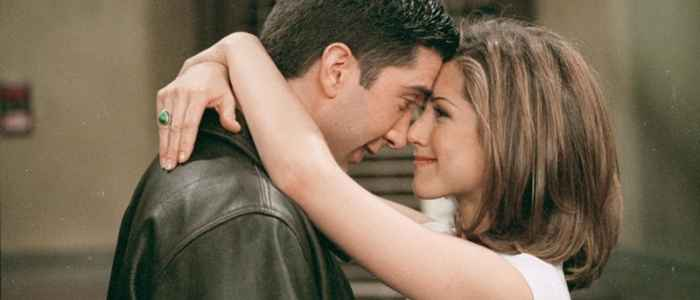 Ross and Rachel on Friends is one of the most well-know TV sitcom relationships.
