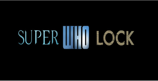 a combination of the titles of Supernatural, Sherlock, and Doctor Who
