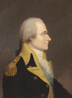 Alexander Hamilton was a key member of George Washington's staff.