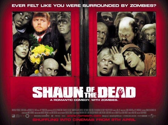 In Shaun of the Dead, zombie almost passes as boring business as usual.