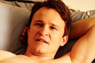 Dan contemplating his potential as an actor.