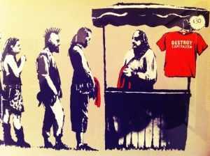 destroy-capitalism Banksy