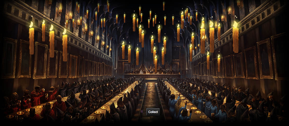great hall Pottermore