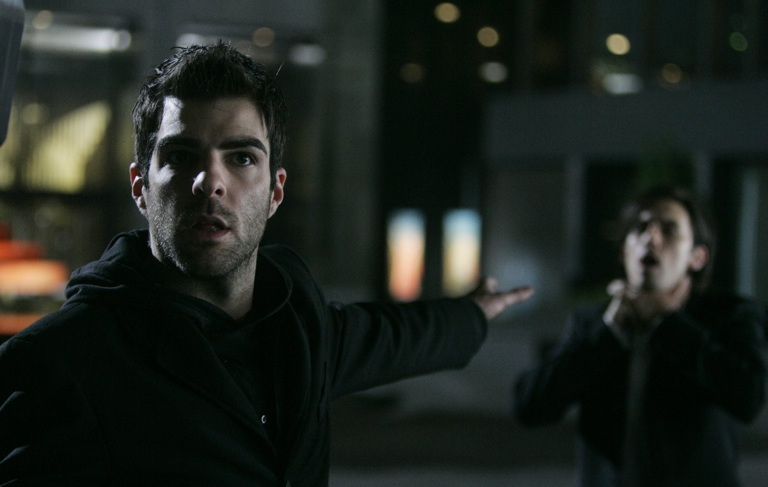 """Sylar and Peter in """"How to Stop an Exploding Man"""""""