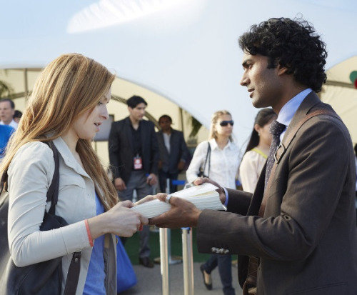 """Molly Walker reunites with Mohinder Suresh, one of her father figures, in """"June 13th, Part 1"""""""