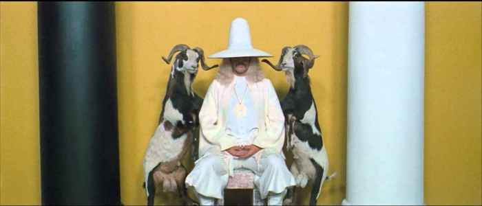 Jodorowsky as the Alchemist.