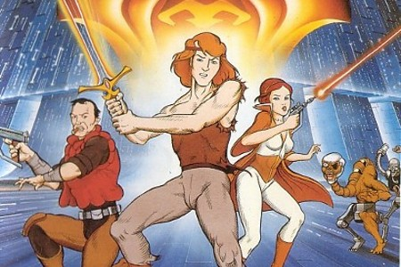 Starchaser: Legend of Orin is an blatant Star Wars rip-off