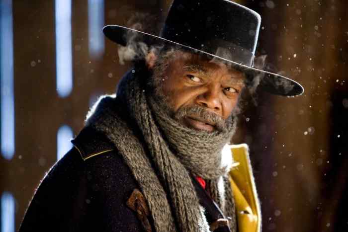 Samuel L. Jackson as Major Marquis Warren from The Hateful Eight