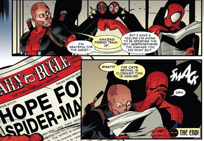 "The ""It's Complicated"" Relationship of Deadpool and"