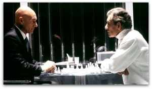 Professor Xavier and Magneto Playing Chess, X2: X-Men United (2003)