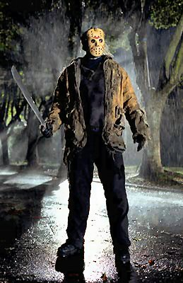Horror characters like Jason and Michael Myers are associated with fear and nature