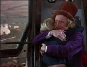 Willy Wonka-Elevator