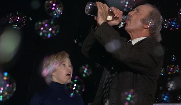 Charlie and Grandpa Joe's mistake almost has dire consequences when they nearly float into the ceiling fan