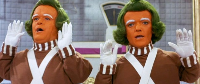 Willy Wonka- Oompa Loompa