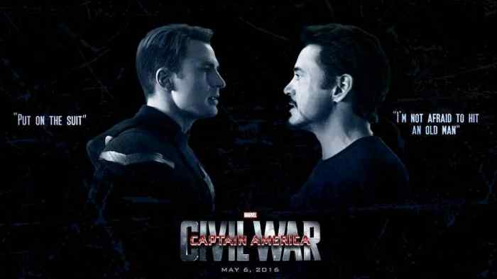 Captain America and Iron Man face off in another superhero squabble