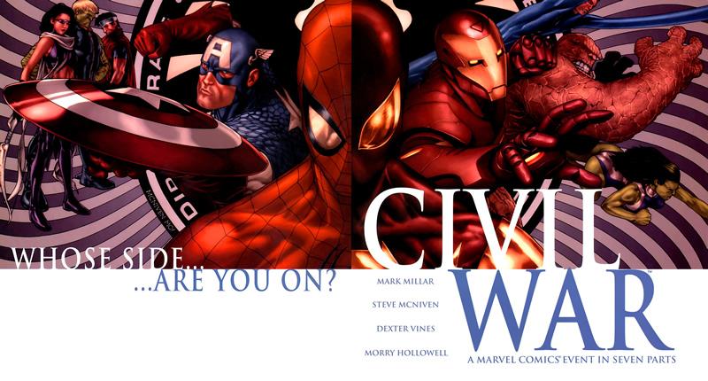 Civil War: A Marvel Comics Event (2006-27)