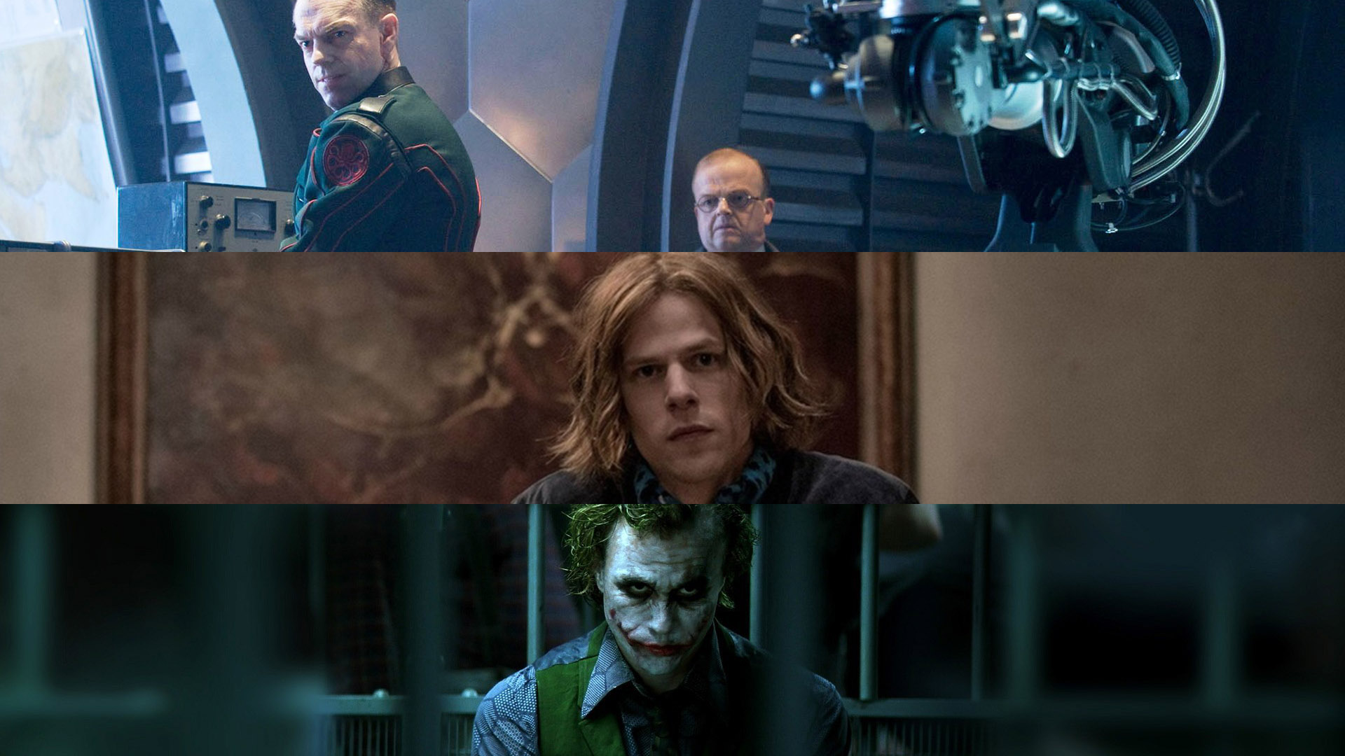 Hydra, Lex Luthor, and Joker -- these enemies never become unmotivated no matter how much setback they experience.