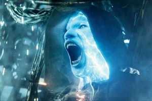 Electro tries to deal massive damage to his surroundings, and he symbolizes a complete sociopathic behavior.