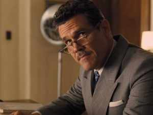 Eddie Mannix (Josh Brolin) serves as the movie's moral compass.